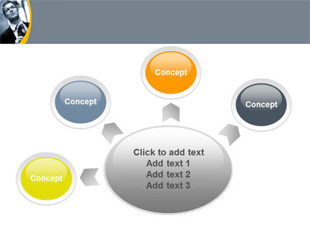 Distress In Gray Color PowerPoint Template Slide 7