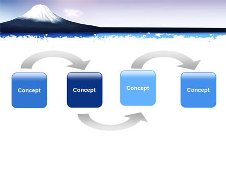 Mount Fuji PowerPoint Template, Slide 4, 05201, Nature & Environment — PoweredTemplate.com