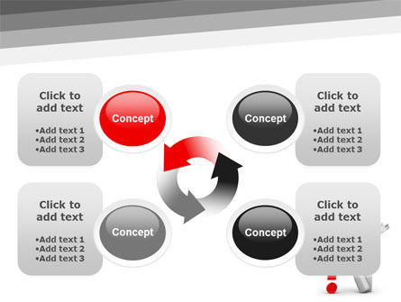 Red Question Mark Under Hand Of Man PowerPoint Template Slide 9