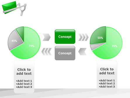 Letter PowerPoint Template Slide 11