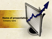 Financial/Accounting: Diagram Of Rise PowerPoint Template #05204