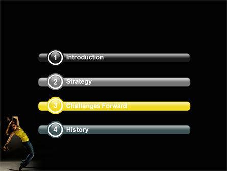 Modern Dance PowerPoint Template Slide 3
