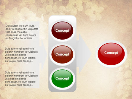 Red Roses Card PowerPoint Template Slide 11