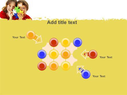 Jigsaw Game PowerPoint Template Slide 10