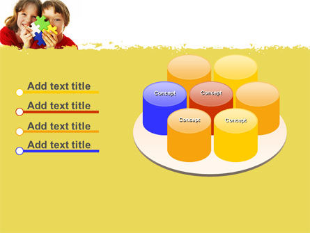 Jigsaw Game PowerPoint Template Slide 12