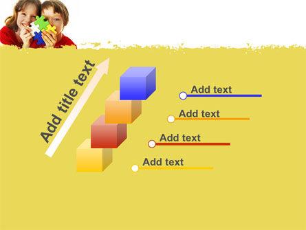 Jigsaw Game PowerPoint Template Slide 14