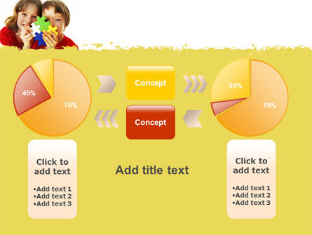 Jigsaw Game PowerPoint Template Slide 16