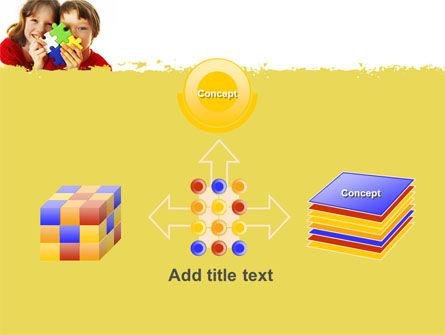 Jigsaw Game PowerPoint Template Slide 19