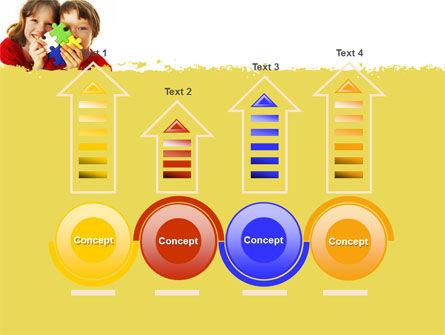 Jigsaw Game PowerPoint Template Slide 7