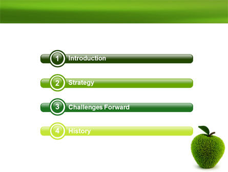 Grass Apple PowerPoint Template Slide 3