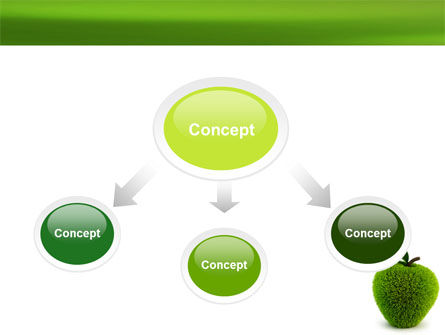 Grass Apple PowerPoint Template Slide 4