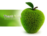Grass Apple PowerPoint Template#20