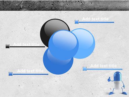 Blue Pill PowerPoint Template Slide 10