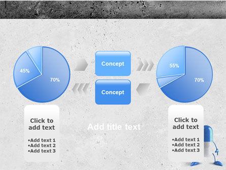 Blue Pill PowerPoint Template Slide 11