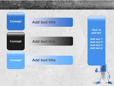 Blue Pill PowerPoint Template Slide 12