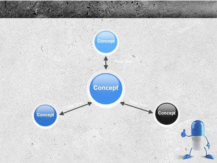 Blue Pill PowerPoint Template Slide 14