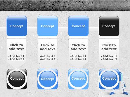 Blue Pill PowerPoint Template Slide 18