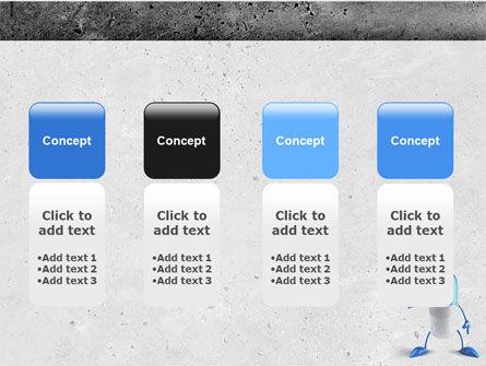 Blue Pill PowerPoint Template Slide 5