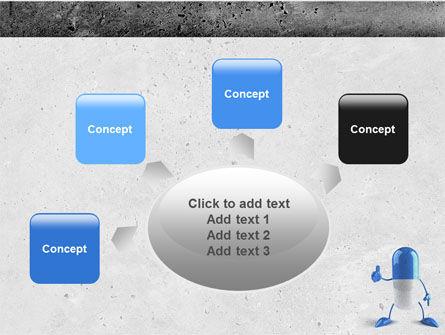 Blue Pill PowerPoint Template Slide 7