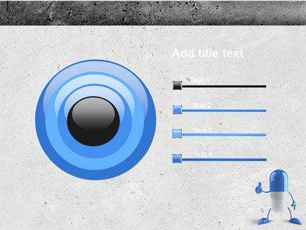 Blue Pill PowerPoint Template Slide 9