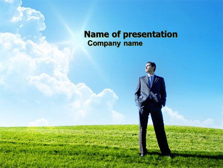 Happy Future PowerPoint Template