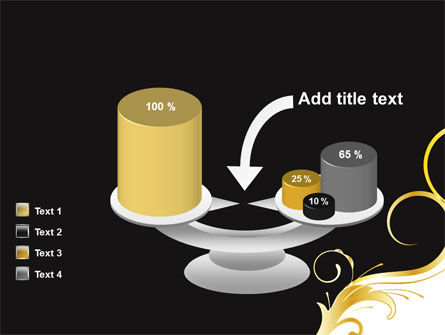 Gold Ornament PowerPoint Template Slide 10