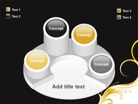 Gold Ornament PowerPoint Template Slide 12