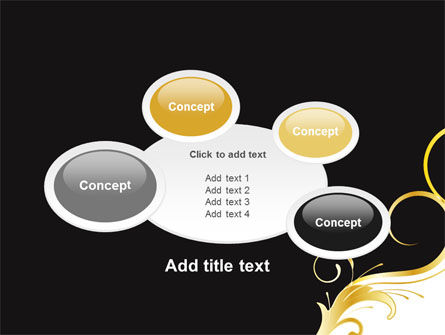 Gold Ornament PowerPoint Template Slide 16