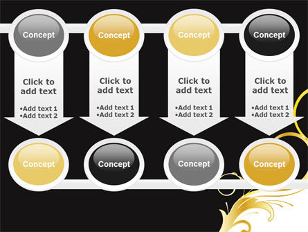 Gold Ornament PowerPoint Template Slide 18