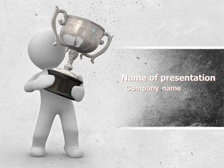 Prize PowerPoint Template, 05215, Education & Training — PoweredTemplate.com