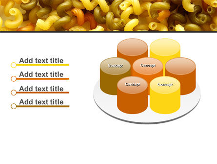 Macaroni PowerPoint Template Slide 12