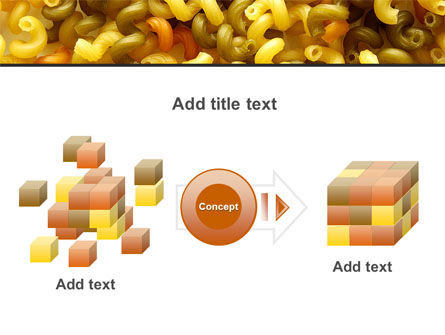 Macaroni PowerPoint Template Slide 17