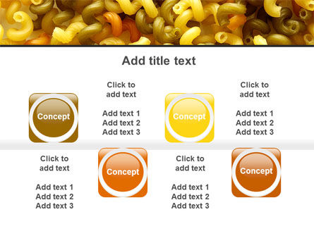 Macaroni PowerPoint Template Slide 18