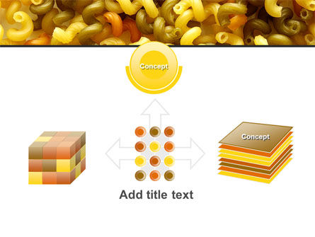 Macaroni PowerPoint Template Slide 19