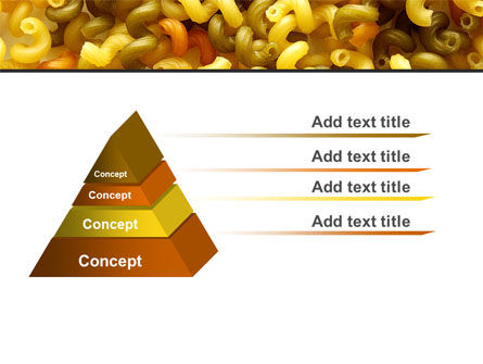Macaroni PowerPoint Template, Slide 4, 05218, Food & Beverage — PoweredTemplate.com