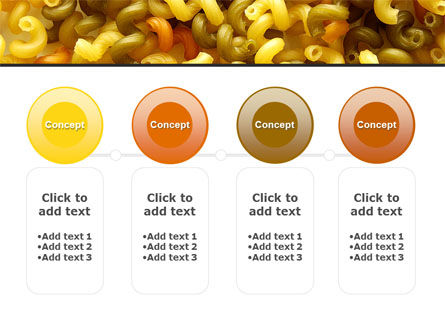 Macaroni PowerPoint Template Slide 5