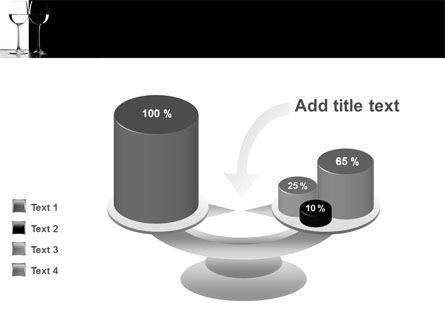 Black and White PowerPoint Template Slide 10