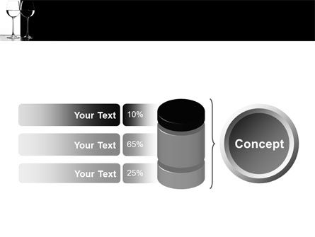 Black and White PowerPoint Template Slide 11