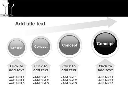 Black and White PowerPoint Template Slide 13