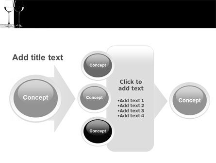 Black and White PowerPoint Template Slide 17