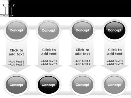 Black and White PowerPoint Template Slide 18
