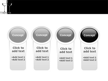 Black and White PowerPoint Template Slide 5