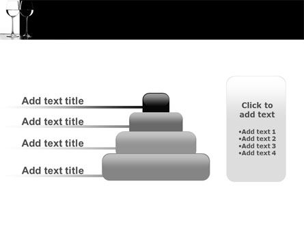Black and White PowerPoint Template Slide 8