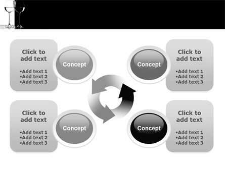 Black and White PowerPoint Template Slide 9