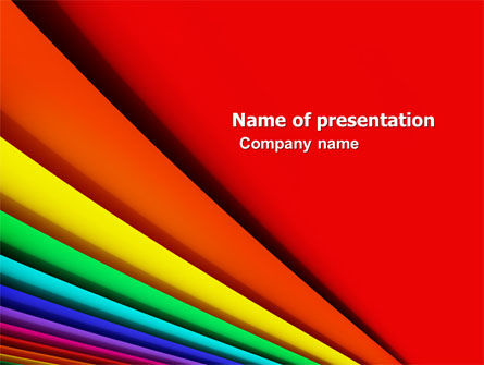 Abstract/Textures: Plantilla de PowerPoint - colores #05227