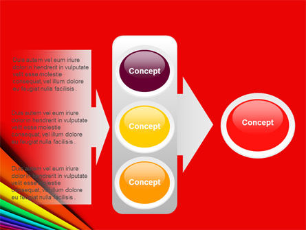 Colors PowerPoint Template Slide 11