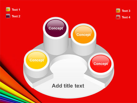 Colors PowerPoint Template Slide 12