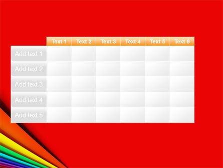 Colors PowerPoint Template Slide 15