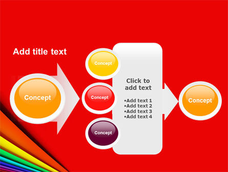 Colors PowerPoint Template Slide 17