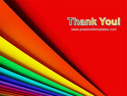 Colors PowerPoint Template Slide 20